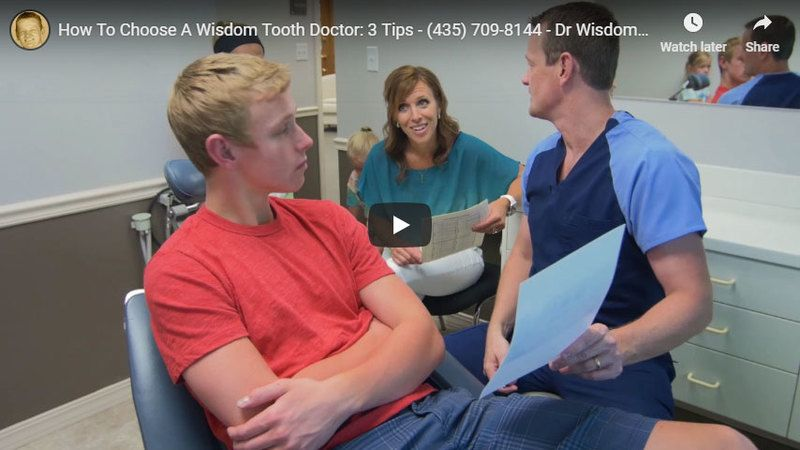 how to choose a wisdom tooth doctor video