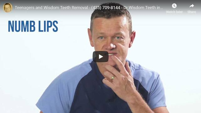 Teenagers and wisdom teeth removal video